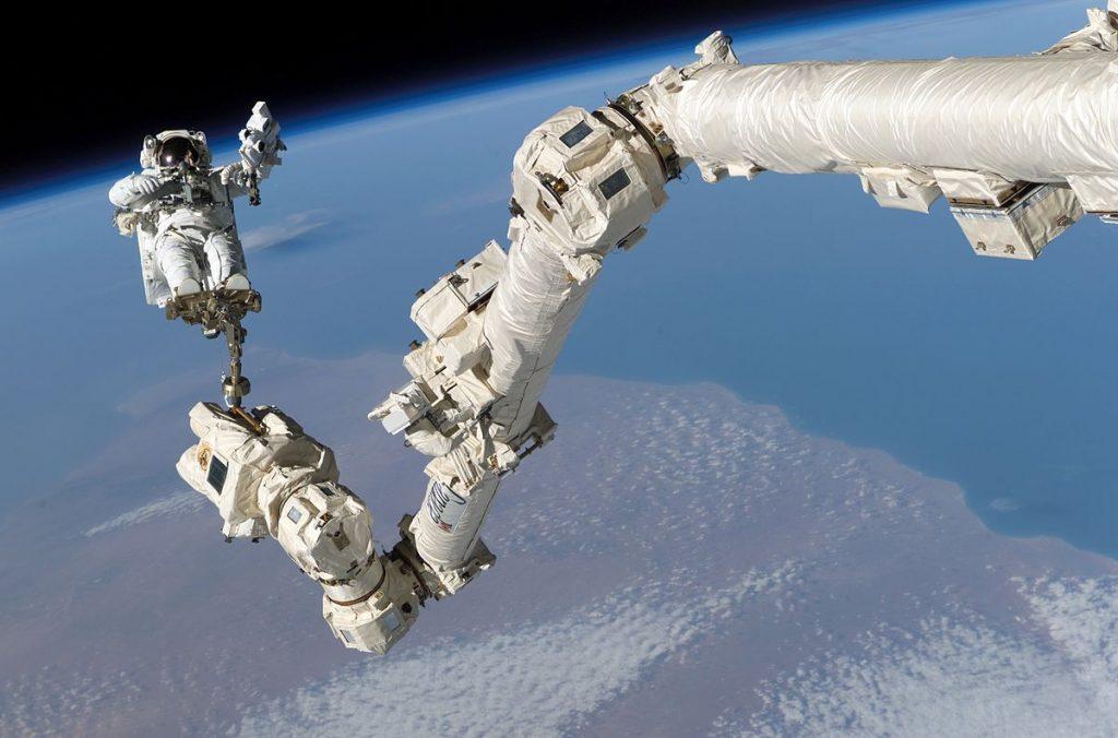 Spacewalk ISS / NASA