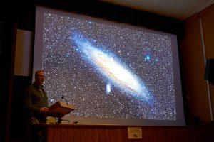 Volker Wichmann zeigt Andromeda