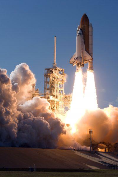 Shuttle-Start NASA