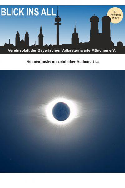 Blick ins All Vereinsblatt der Volkssternwarte
