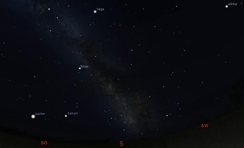 Anblick Sommerhimmel 2021